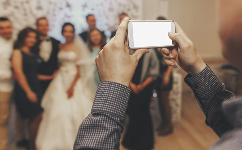 結婚式は写真で一生残る
